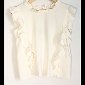 ✨Host Pick!✨moon river ruffle blouse!